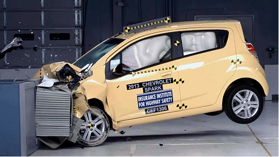 2014 Chevrolet Spark Named IIHS 2014 Top Safety Pick | Performance Chevrolet Automotive News ...