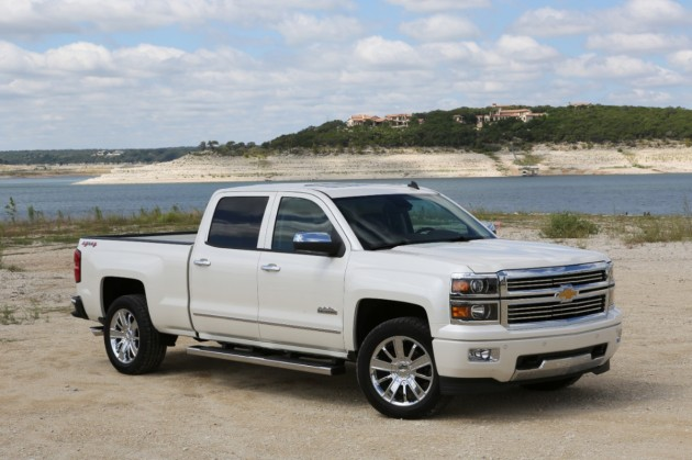 Chevrolet Silverado Most Awarded Pickup of 2014