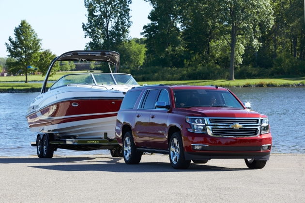 2015 Suburban Offers Comfort and Cutting-edge Technology for Vacation Cruising